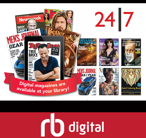 Free Digital Magazines With Your Library Membership….download Today!