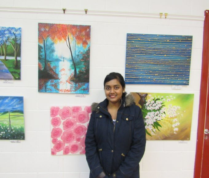 Nenagh Library Art Exhibition For January