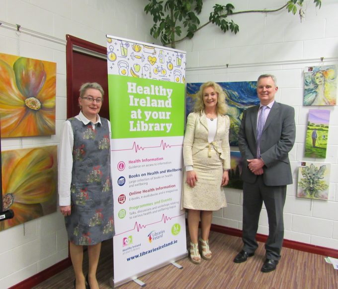 Dr Mary Ryan  And Healthy Ireland  Nenagh Library