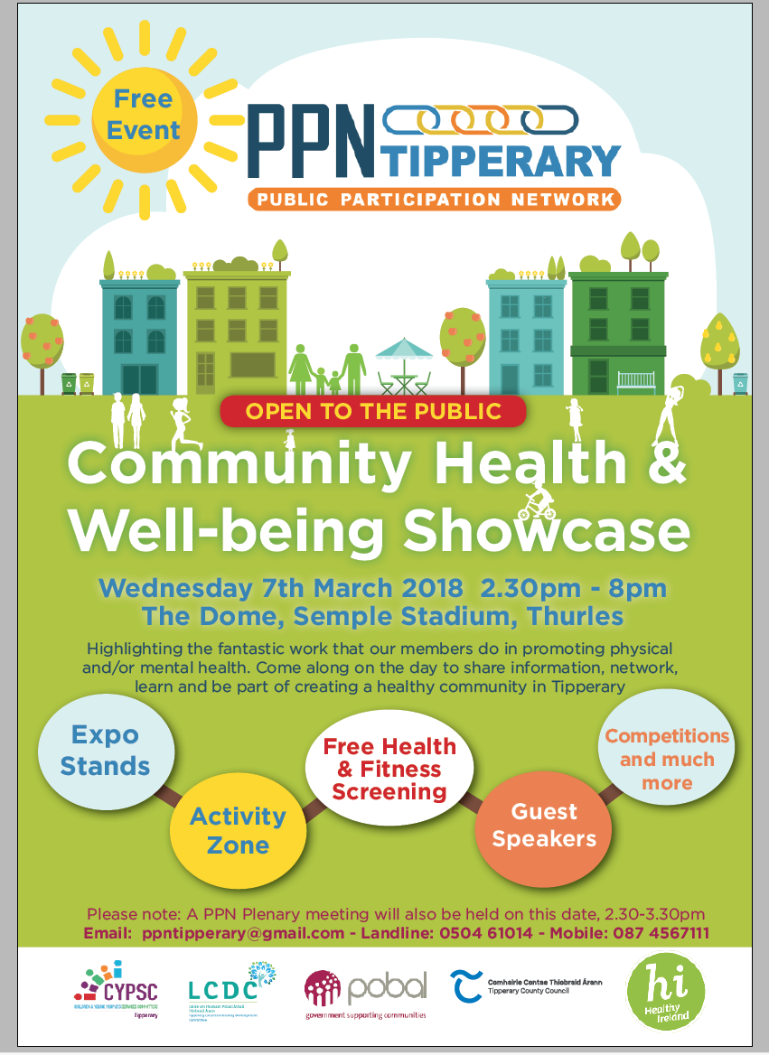 Tipperary Library Service At Health And Well-being Showcase, Thurles