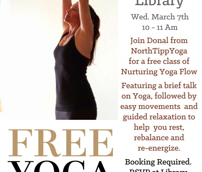 Healthy Ireland: Yoga In Nenagh Library