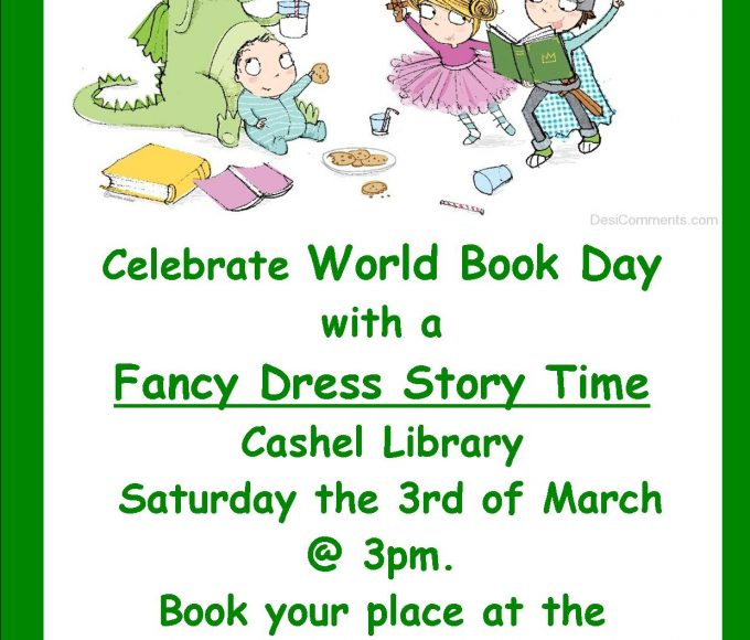 Cashel: Fancy Dress Story Time For World Book Day