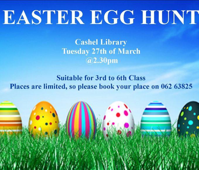 Easter Egg Hunt In Cashel Library