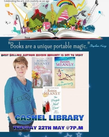 Cashel: Best Selling Author Roisin Meaney