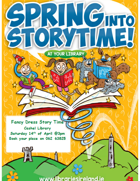 Spring Into Storytime In Cashel Library