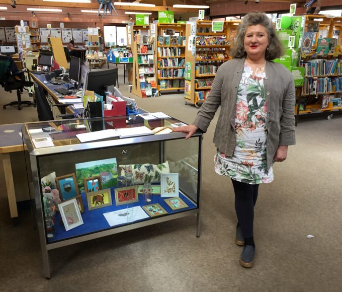 Arts And Crafts Display For Bealtaine At Clonmel Library