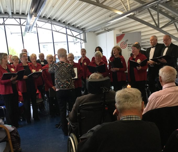 """Tipperary Singers Including Nenagh Library's Mary McCormack: """"Ode To Joy"""" In Cashel Library"""