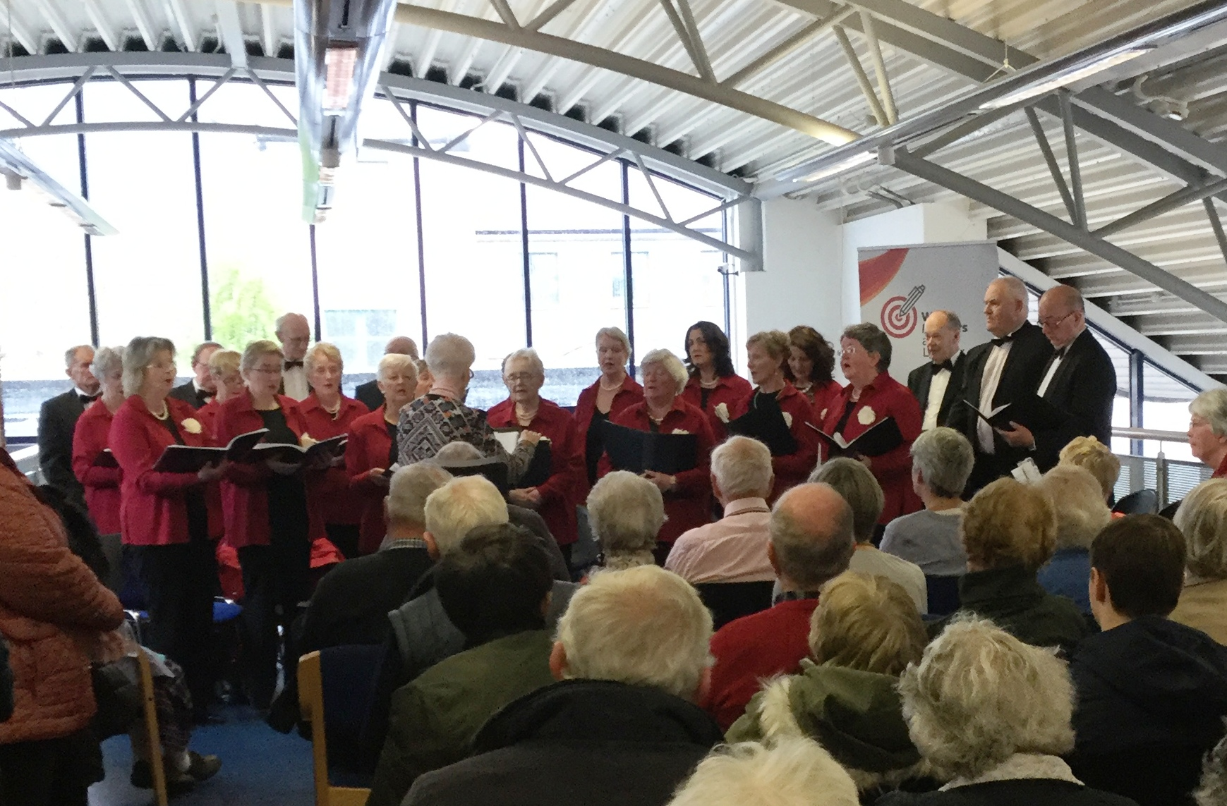 Tipperary Singers And Cashel Community School Choir In Cashel Library