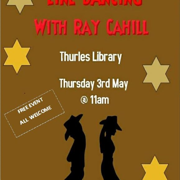 Line Dancing Taster Class In Thurles Library Thursday 3rd May 11am