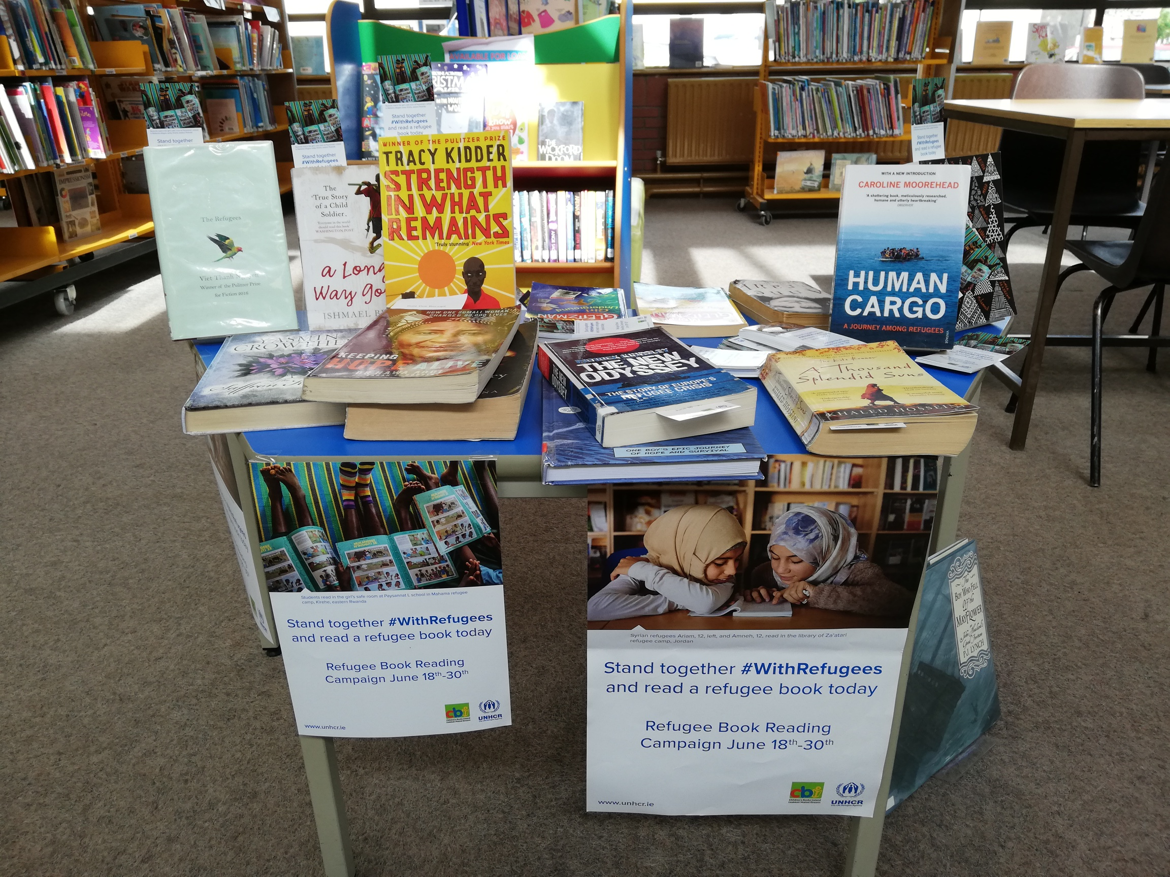 UNHCR Refugee Book Reading Campaign  And Tipperary Libraries