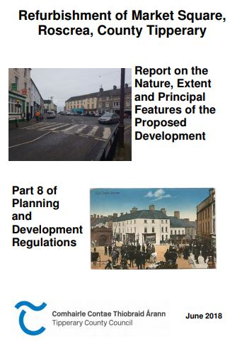 Report On The Refurbishment Of Market Square, Roscrea Can Now Be Viewed In The Library