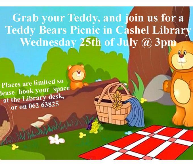 Cashel Library's Annual Teddy Bears Picnic