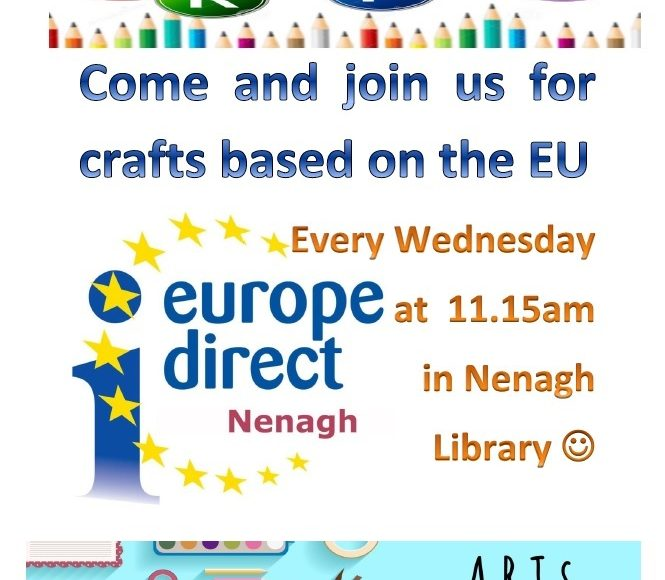 Arts And Crafts To Continue In Nenagh Library For August.
