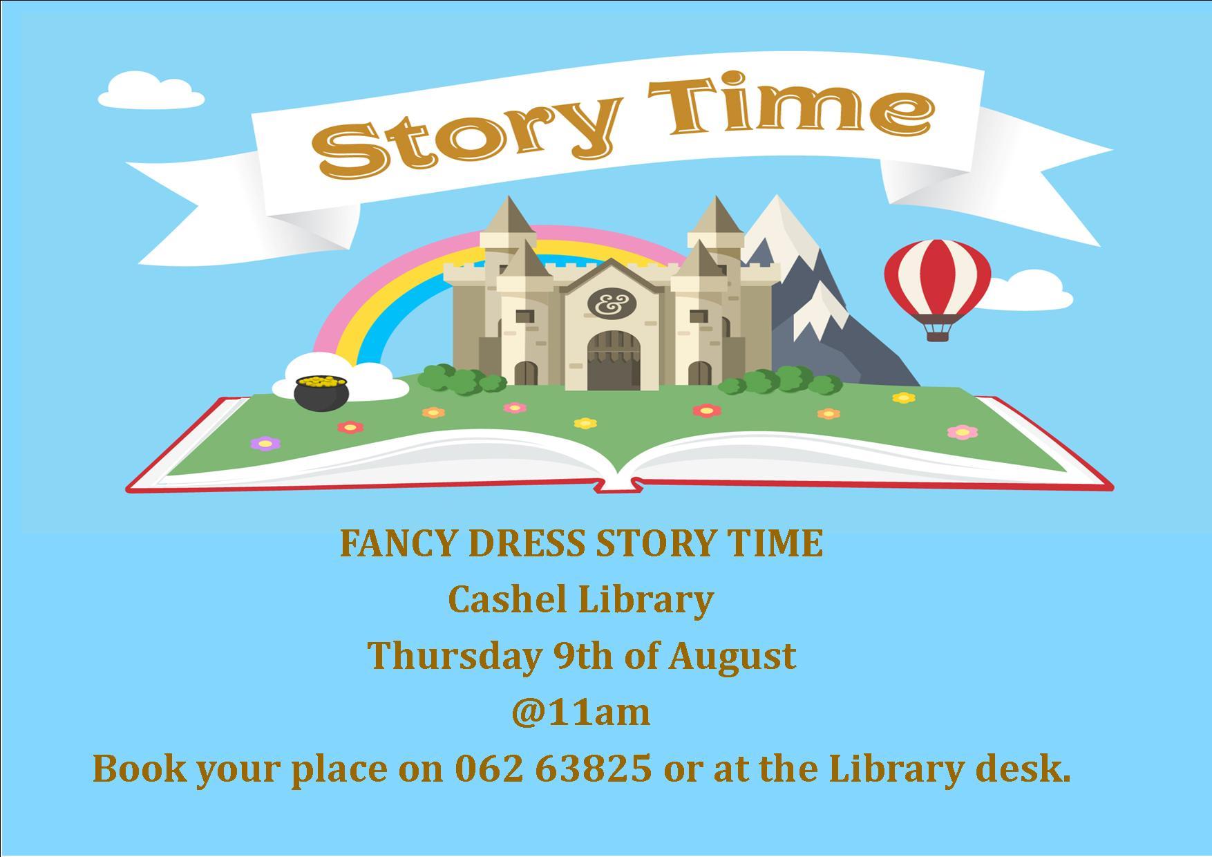 Fancy Dress Story Time In Cashel Library