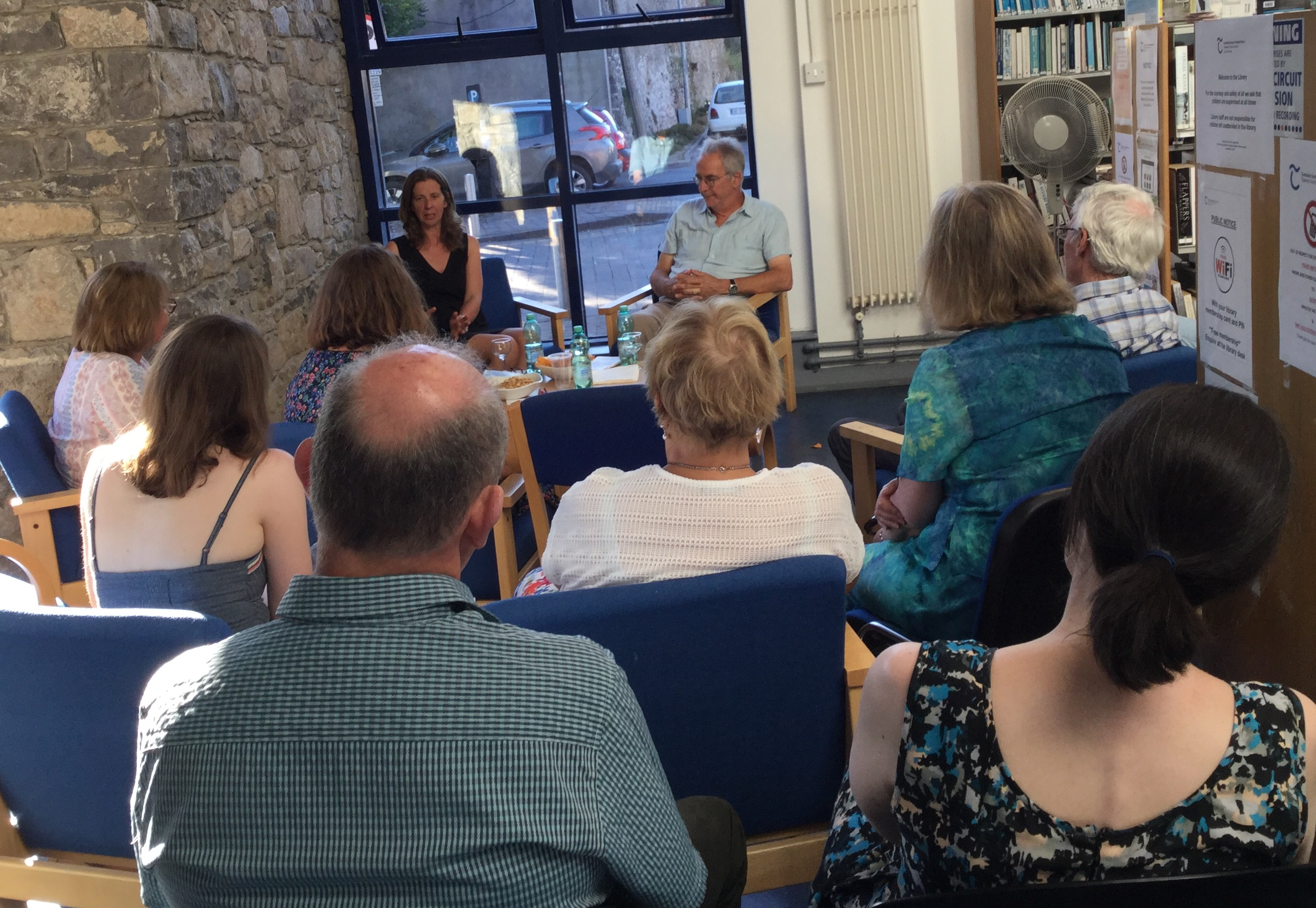 Evening Of Poetry With Grace Wells And Mark Roper In Cashel Library