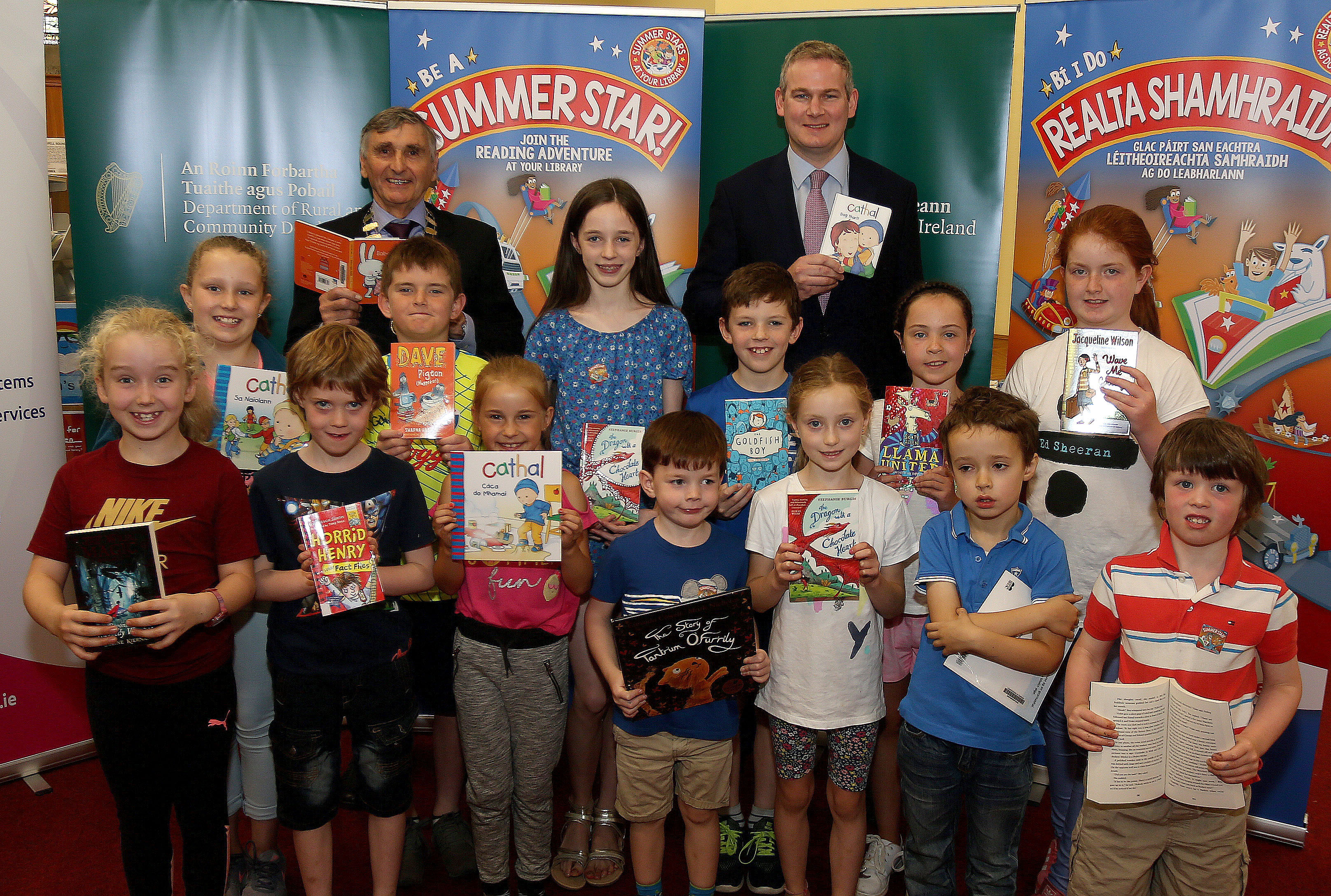 Minister Kyne Launches The Summer Stars Children's Reading Adventure 2018