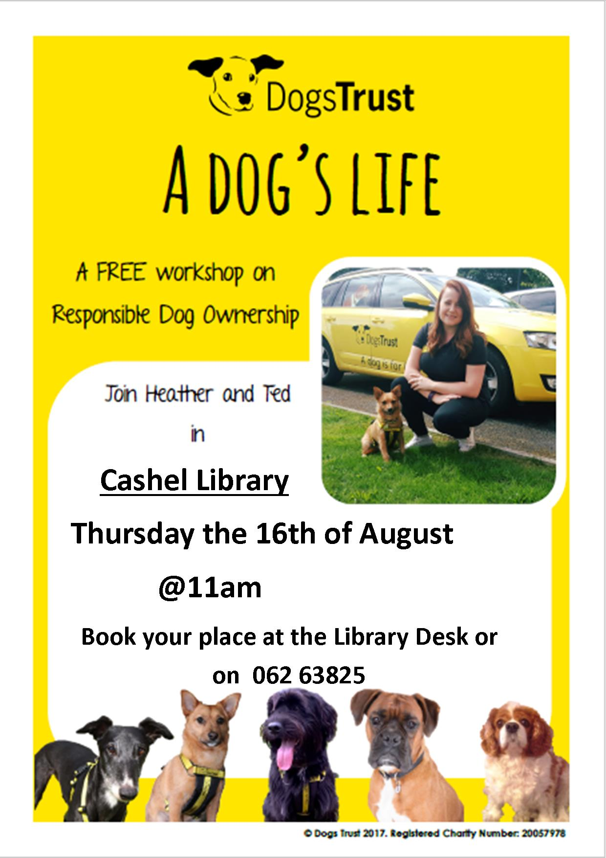 Dogs Trust Workshop In Cashel Library