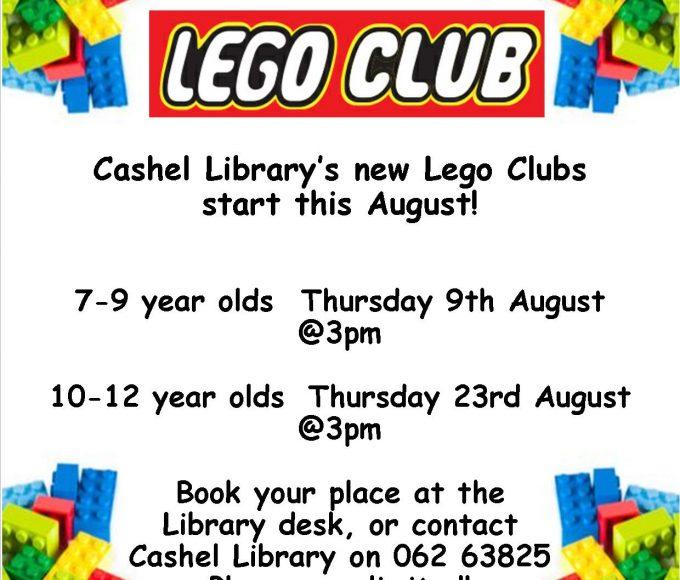 Cashel Library Lego Club