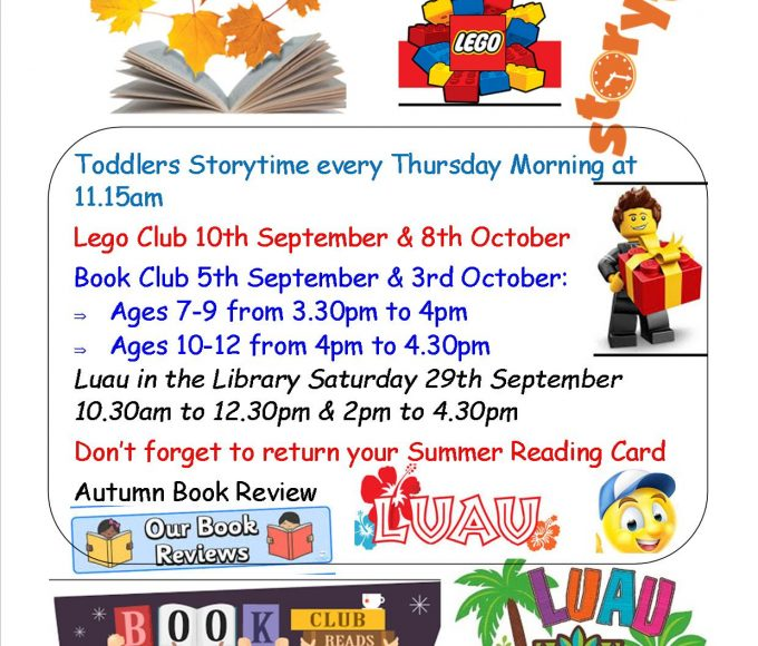 Autumn Fun For Kids In Nenagh Library