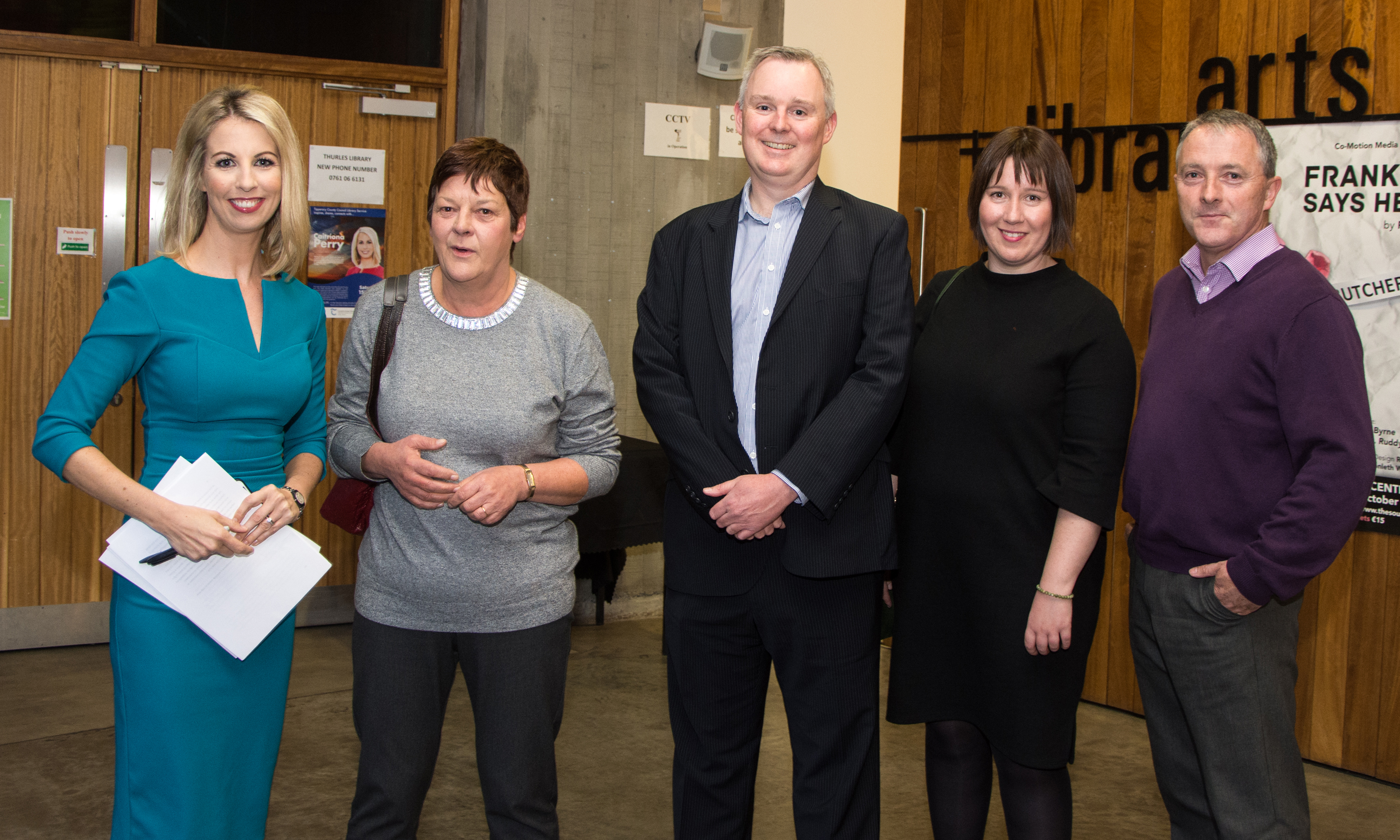 Caitríona Perry Visit To Tipperary Is A Huge Success