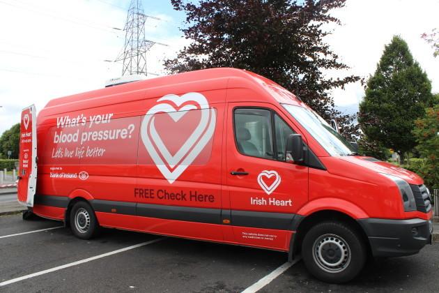 Cashel: Irish Heart Foundation Mobile Health Unit