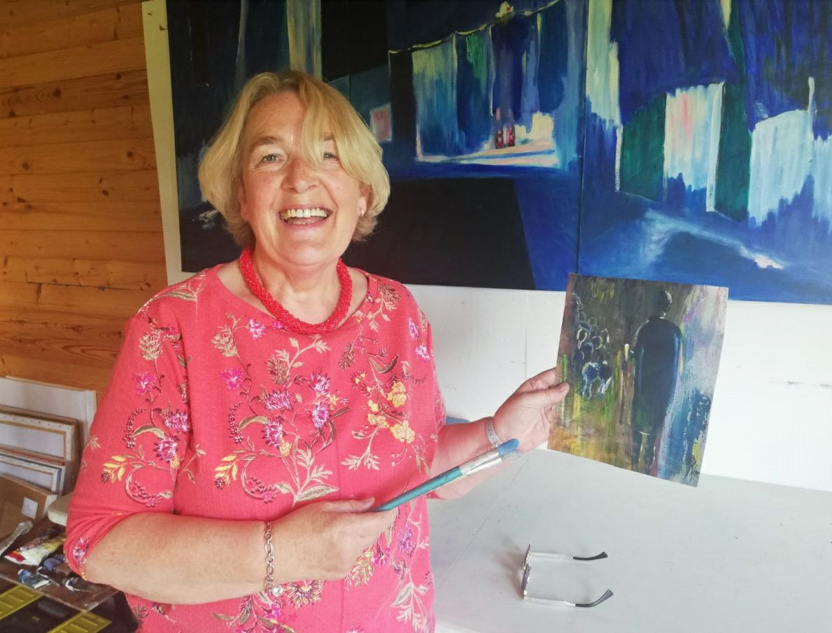 Painting Class With Mary Finn – Monday, 1st October @9.30am