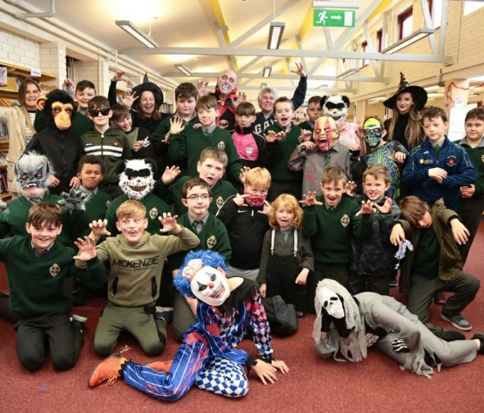 Haunted House At Carrick Library