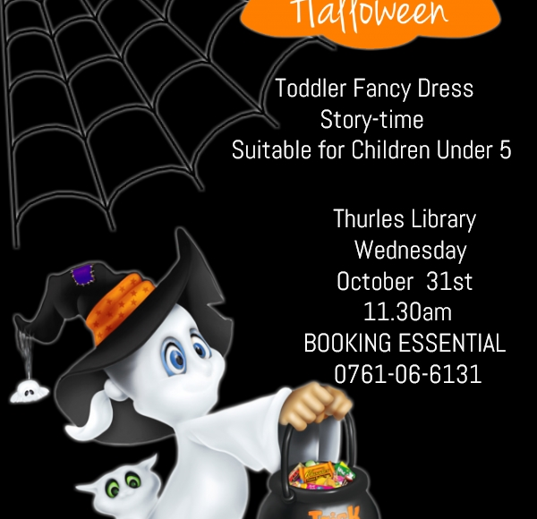 Halloween Toddler Story-time In Thurles Library