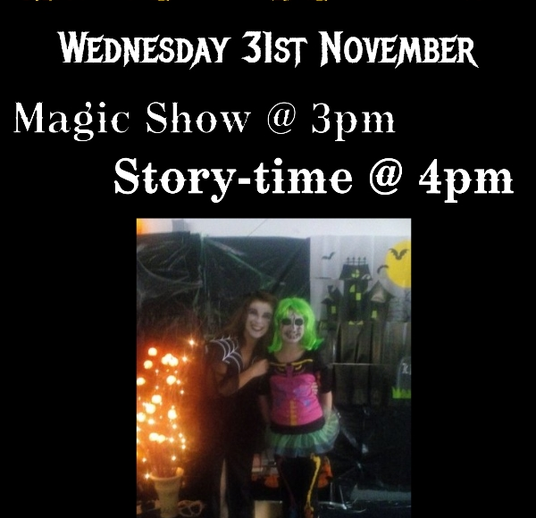 Magic & Story-time At Thurles Library