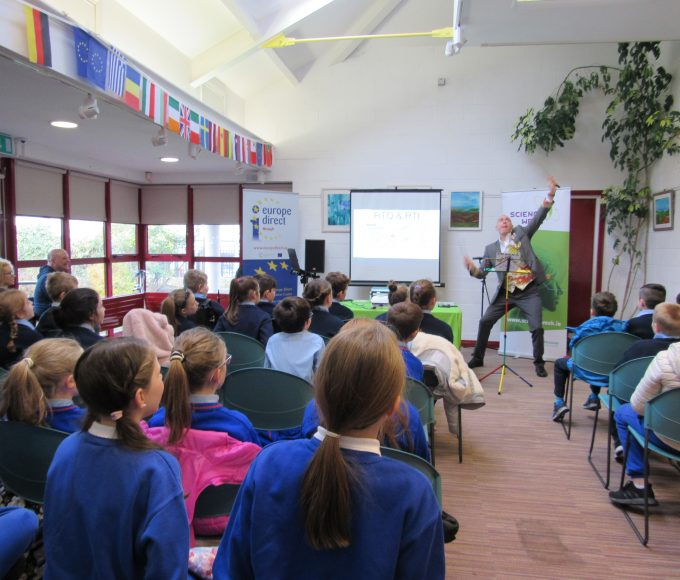 Science Week In Nenagh Library.
