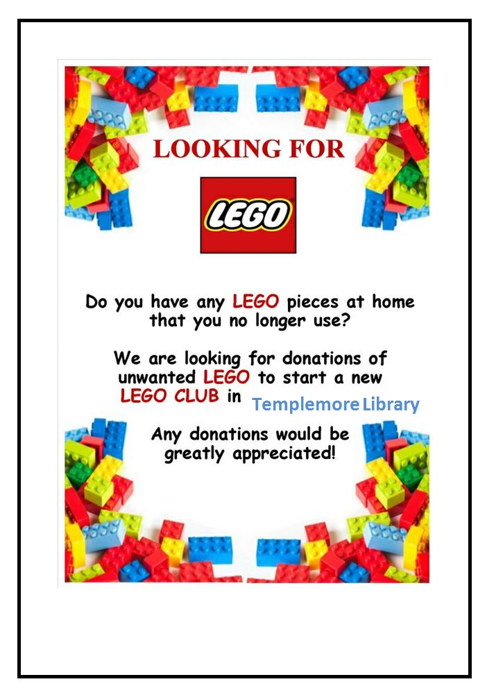 Lego Club Templemore Library
