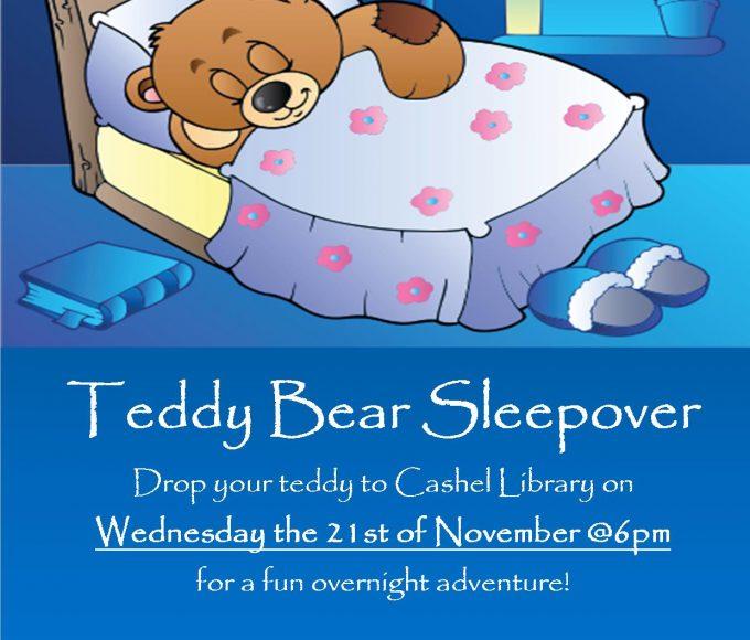 Cashel: Teddy Bear Sleepover