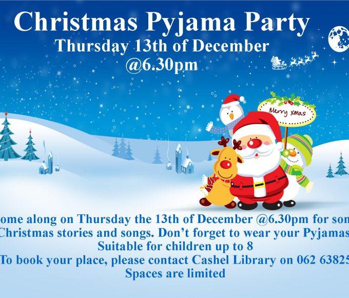 Cashel: Christmas Pyjama Party