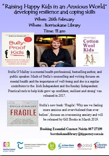 Raising Happy Kids In An Anxious World: A Talk By Stella O'Malley