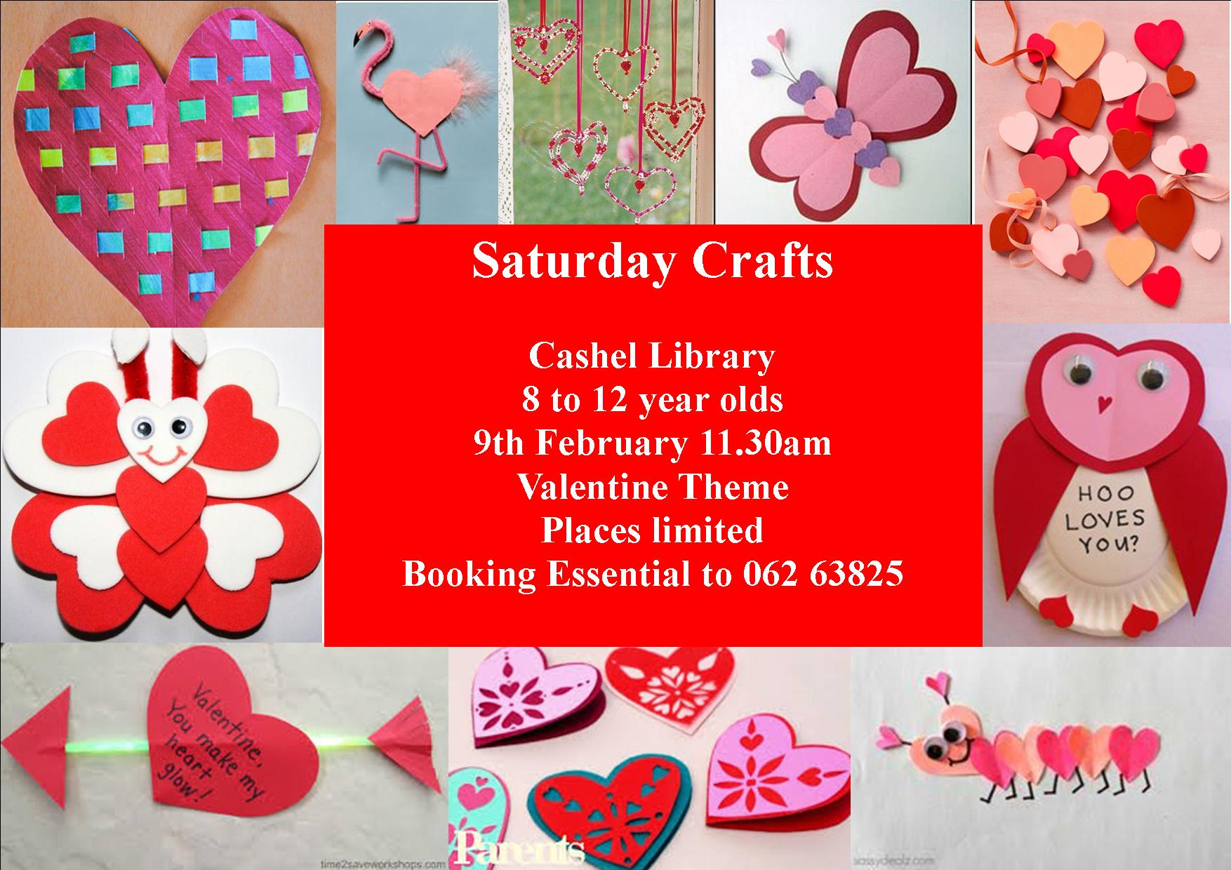 Saturday Crafts For Kids In Cashel Library