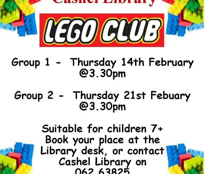Cashel Library Lego Clubs