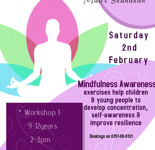 Mindfulness Workshop Tomorrow In Thurles Library!