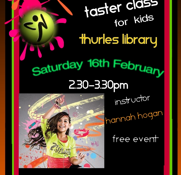 Zumba Taster Class For Kids In Thurles Library!