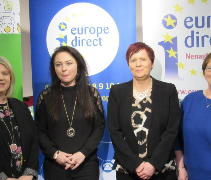 "Successful Information Day ""Pathways To Education, Training And Work In Europe"": Nenagh EDIC"