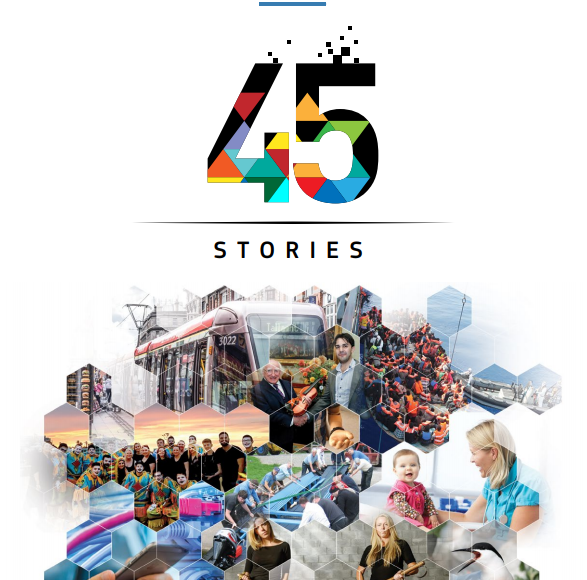 """45 Stories"": European Commission Exhibition In Nenagh Library"