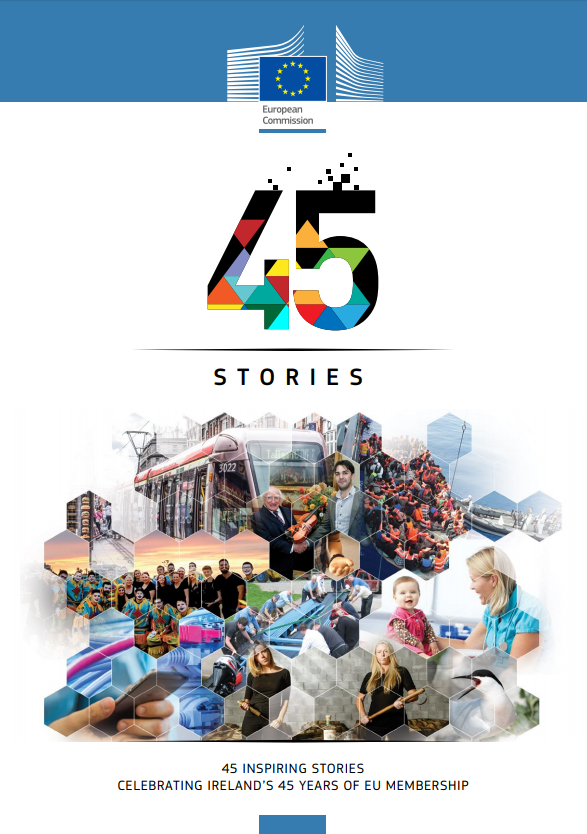 """""""45 Stories"""": European Commission Exhibition In Nenagh Library"""