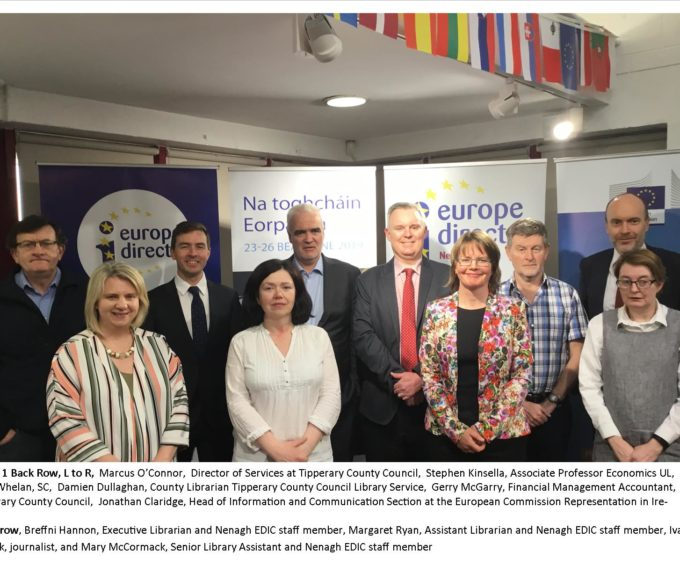 'EU And Me…What Has The EU Ever Done For Me?' :  Nenagh Library's Citizens Dialogue