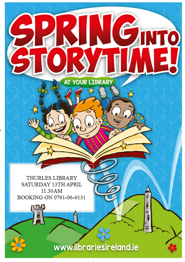 Spring Into Story-time With Thurles Library Tomorrow!