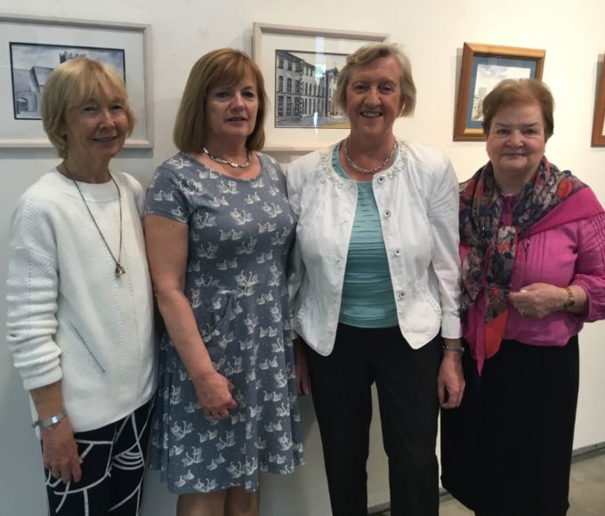 "Launch Of ""First Impressions"" Exhibition At Thurles Library"