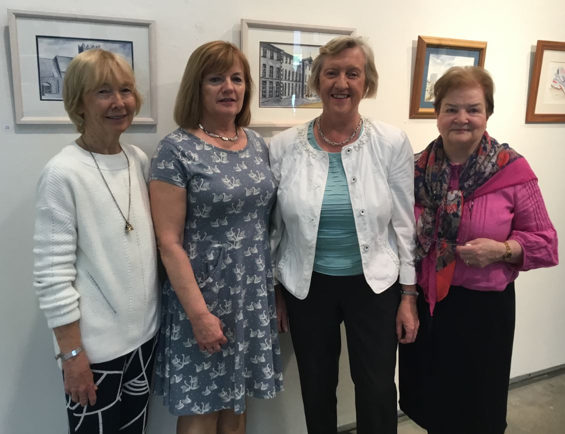 """Launch Of """"First Impressions"""" Exhibition At Thurles Library"""