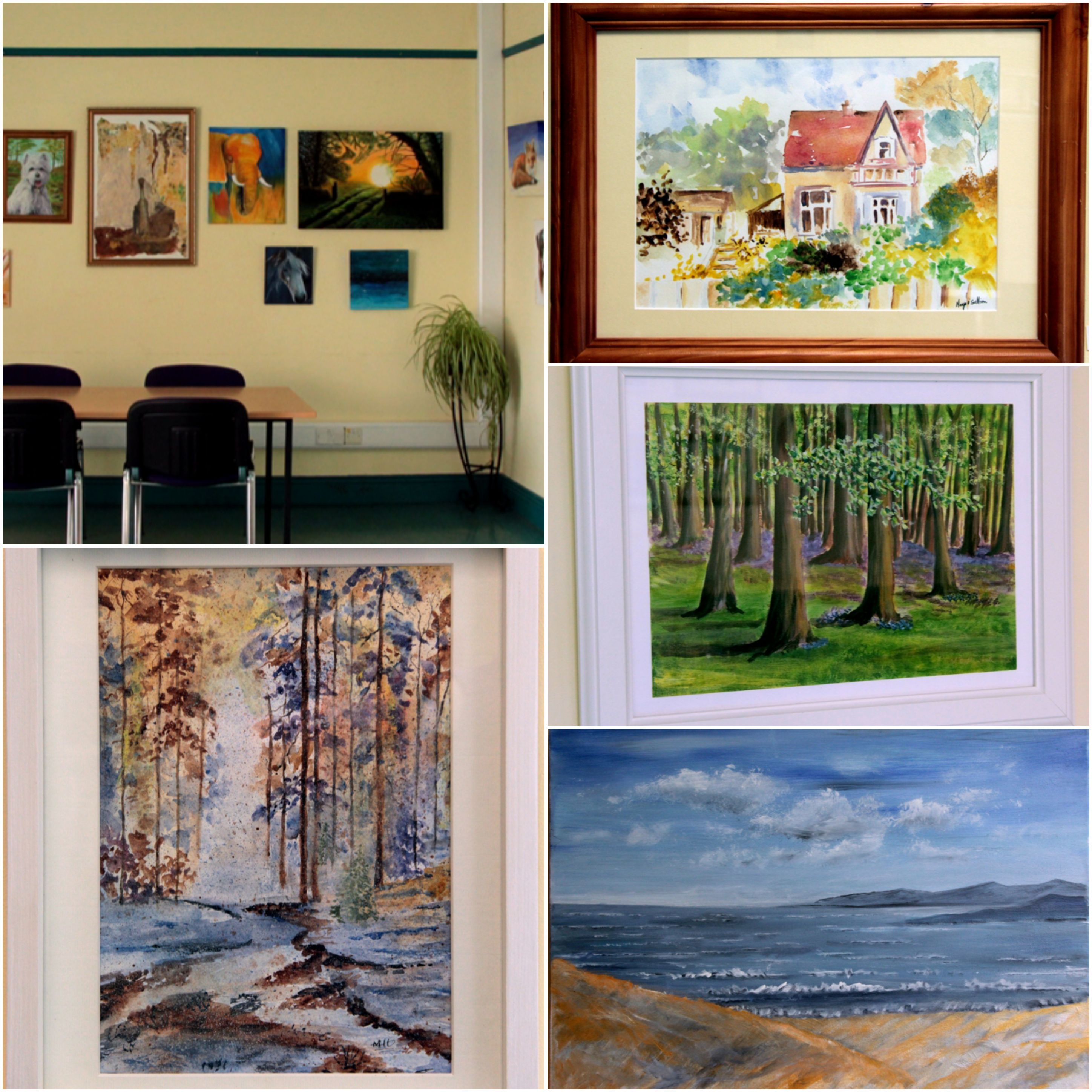 """Templemore Library – """"Brushstrokes"""" – An Exhibition Of Work From Thurles Local Art Group"""
