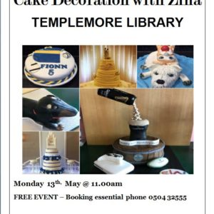 Templemore Library – Cake Decoration With Zina