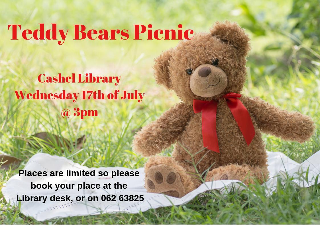 Cashel Library's Teddy Bears Picnic