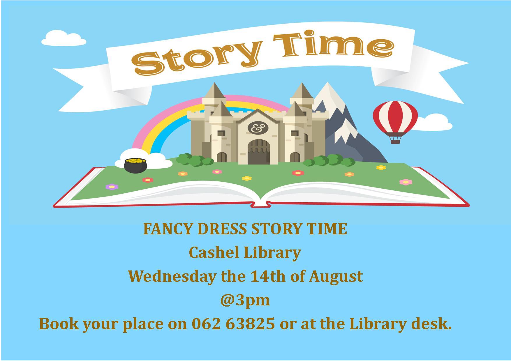 Fancy Dress Storytime in Cashel Library