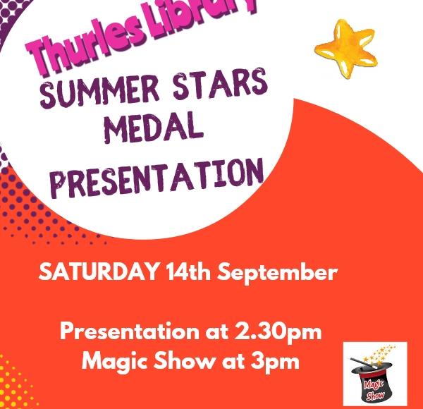 Summer Stars Presentation In Thurles Library!